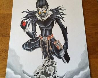 Death Note Ryuk 9x12 original