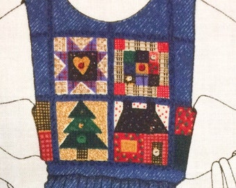 Fabric Panel jumper/Patchwork women's jumper/fabric panel/XS-L/