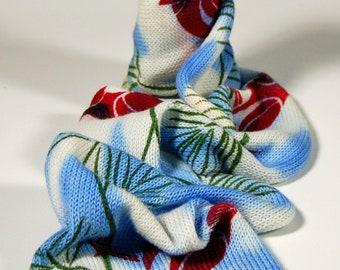 Single Knit Sock Blank- Cardinal in the Pine