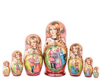 """Matryoshka doll """"Plot"""" 7 places"""