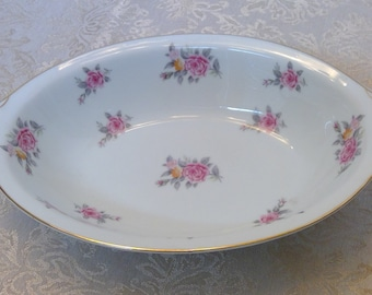Open Vegetable Dish, Narumi China, Occupied Japan, Hinsdale Pattern, China Serving Bowl, Vintage