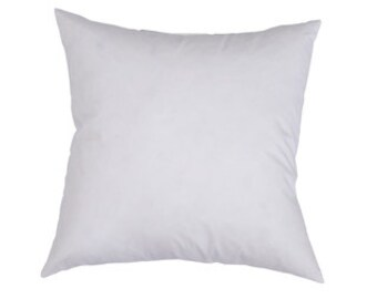 18x18 Pillow Insert - 100% Polyester Fill - White Pillow Insert