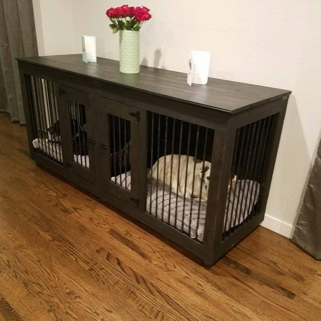 Double Dog Kennel Furniture
