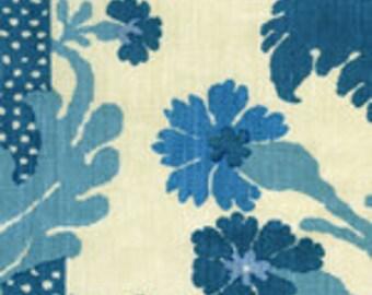 """Quadrille """"Henriot Floral"""" Drapery Panels"""