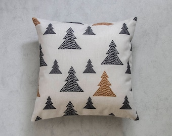 Christmas Pillow Cover, Pine Tree Pillow Cover,  Pillow Covers, Throw Pillow, Christmas Throw Pillow, Decorative Pillow Cover