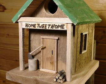 Country Home Tweet Home Birdhouse Cottage