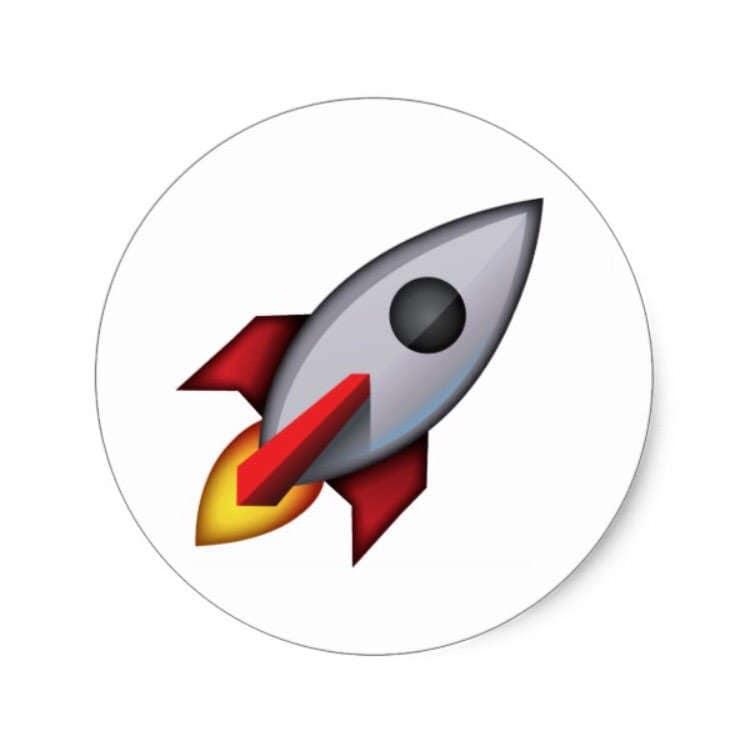 Rakete Emoji