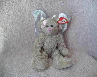 Ty Beanie babies , Ty Beanie baby , Rafaella the bear ,Stocking stuffer, Gift under 25 ,Angel bear ,Bear with wings