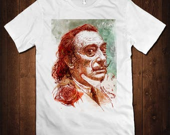 Salvador Dali Art T-Shirt, All Sizes
