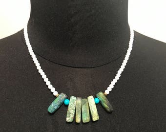 Handmade Womens Beaded Necklace