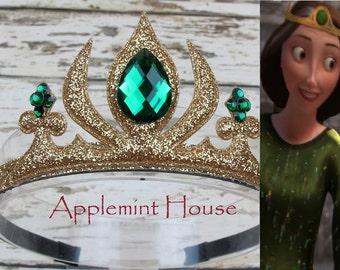 Princess Merida Crown, Brave Crown,Merida Inspired Headband,Merida Headband,baby princess headband,Princess Crown,Disney Crown