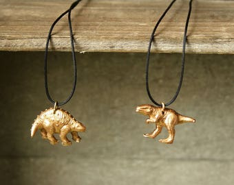 Dinosaur necklace pendant