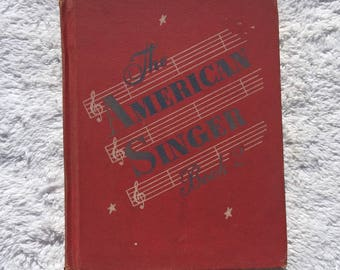 1950 The American Singer Book Two (2) - Classroom School Children's Child's Kid's Music Songbook