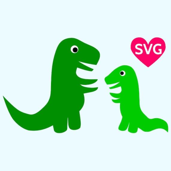mom and baby dinosaur svg files for cricut svg dinosaur clipart rh etsystudio com cute baby dinosaur clipart
