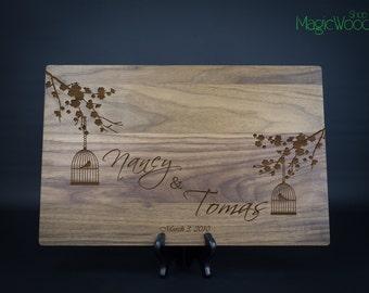 Personalized Cutting Board, Wedding Gift, Custom Cutting Board, Wedding Gift, Anniversary Gift, Housewarming Gift