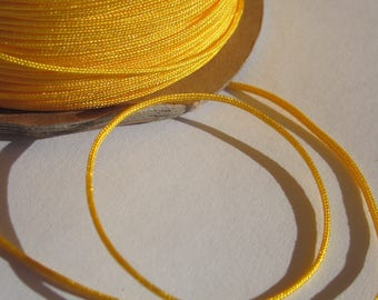 1 m of thread for jewelry, cotton and polyester 1 mm thick approximately (57)