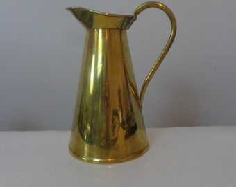 Vintage Brass Watering Can Vase, Watering Can Vase, Vintage Pitcher, Watering Can, Vintage Watering Can, Vintage Watering Can, Watering Can