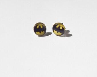 bat earrings etsy
