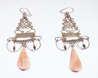 Delicate Loop Drop Earrings