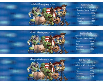 Toy Story Water Bottle Wrappers-DIGITAL-check out the matching items in my shop