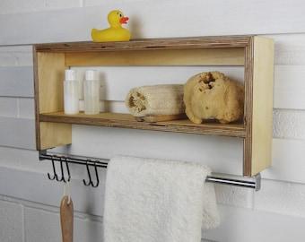 Handdoek kast badkamer. interesting als u een ruime badkamer met een
