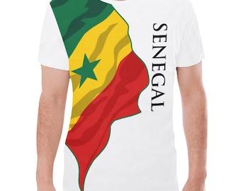 Senegal  Men's Classic Flag Tee