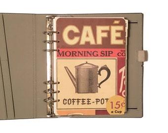 A5 Planner Dashboard: Coffee Lover