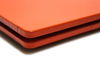 orange 2001 coaster / orange steel coaster
