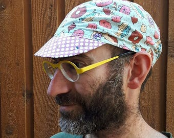 Donut Cats Cycling Cap