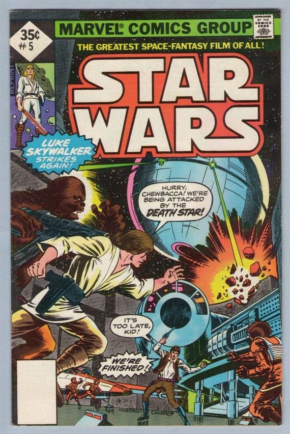 Star Wars 5 (Reprint) Nov 1977 VF- (7.5)