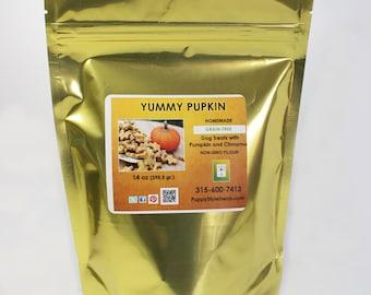 Grain Free Pumpkin Dog Treats - 1lb