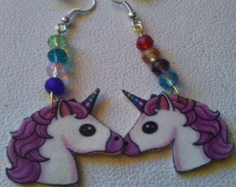 Unicorns and Crystals Earrings