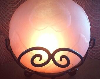 Pink Glow Globe