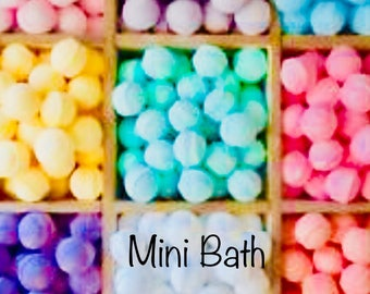 Huge 100 Mini Bath Bomb Lot