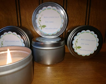Soy Candles - 8 oz