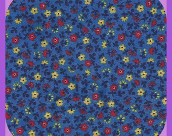 Little Flowers Calico Print COTTON Fabric Fat Quarters