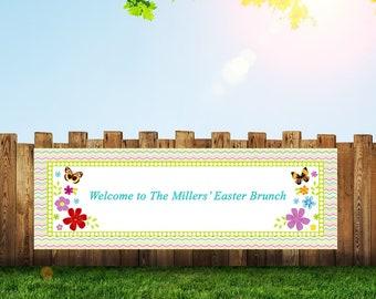 Spring Banner,Spring Decor,Easter Banner,Easter Decor