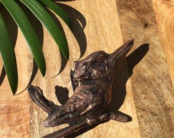 Australian made Kookaburra Door Knocker Copper Bronze souvenir or gift