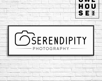 Premade Logo Design / Branding / Minimalist Logo / Photography Logo / Photographer Logo Business Logo / Watermark / 143