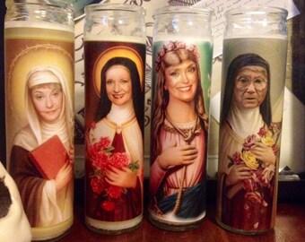 Golden Girls Prayer Candles set of 4
