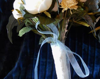 wedding, bouquet, wedding bouquet, bride, bridesmaid, hand tied, silk, flowers, wedding flowers