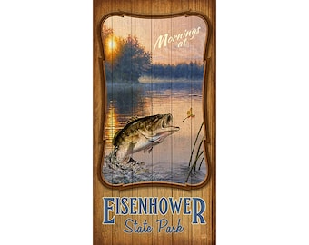 Eisenhower State Park, Texas, Bass Fishing, Fishing, Texas State Parks