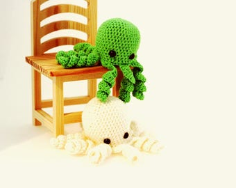 Amigurumi octopus,  preemie octopus, Crochet Octopus, Octopus Toy, Stuffed octopus, Octopus Plush, Octopus , toy newborn