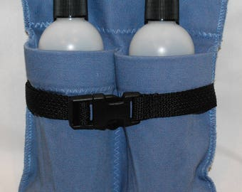 Massage Therapy Double Lotion/Oil Holster- Free Shipping