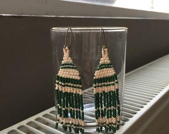 Fringe-Bead Earrings