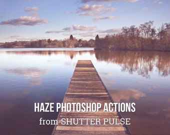 Haze Photoshop Actions - Adobe Photoshop Actions