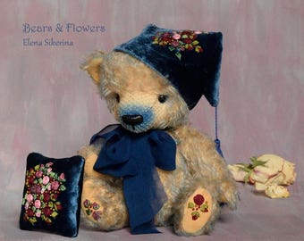Artist teddy bear, OOAK. Filip.