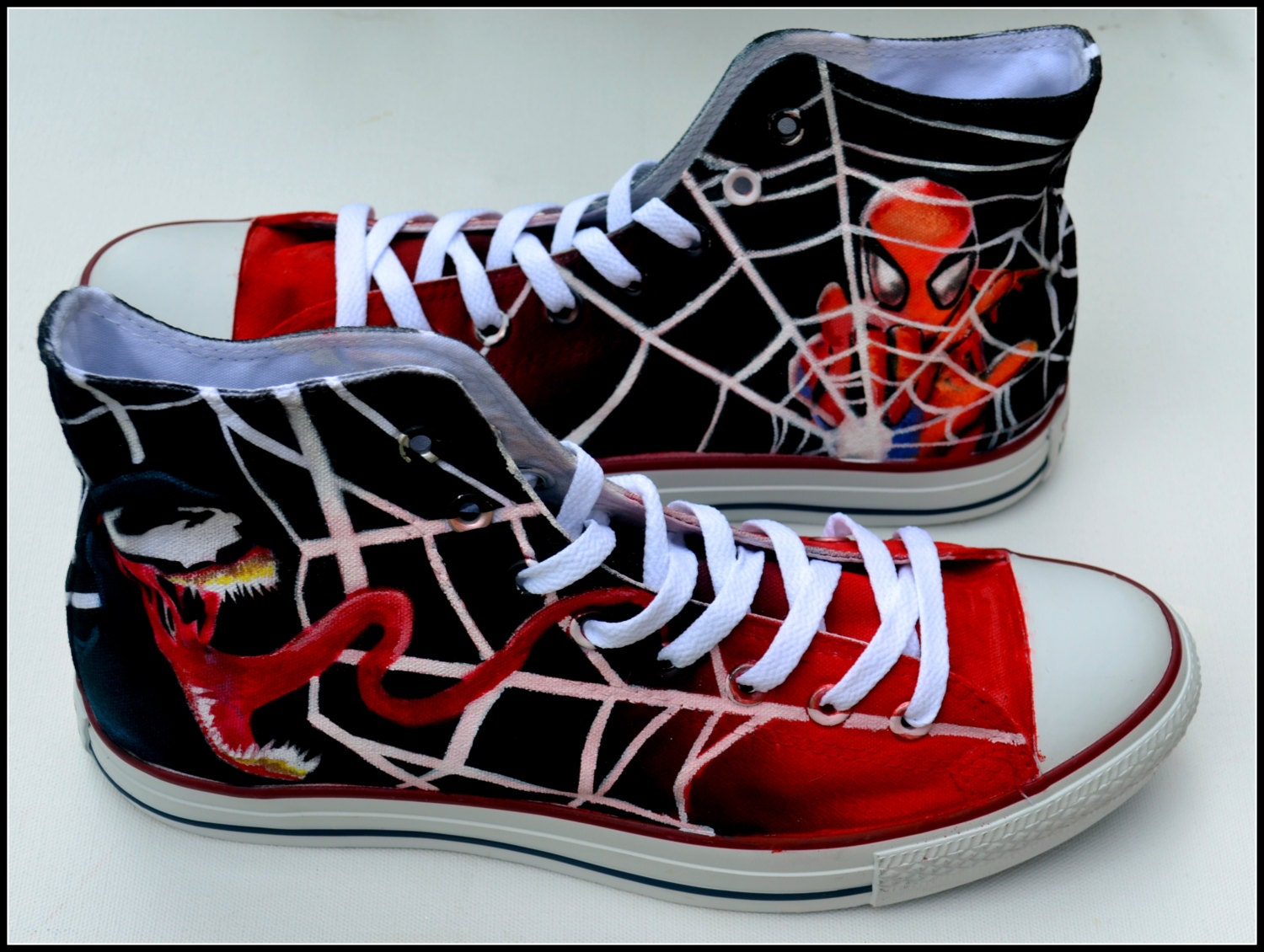 Mens Spiderman Converse Shoes