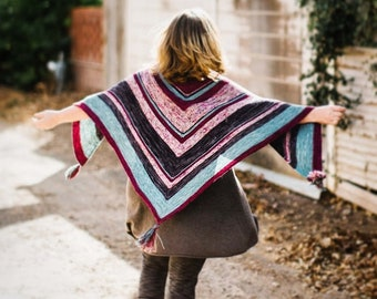The Railyard Shawl Pattern PDF