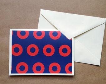 Fishman Donuts Card, Phish Card, Phish Merch, Fishman Donuts Greeting Card, Blank Card, Custom Card, Phish Lyrics Card, Custom Phish Card